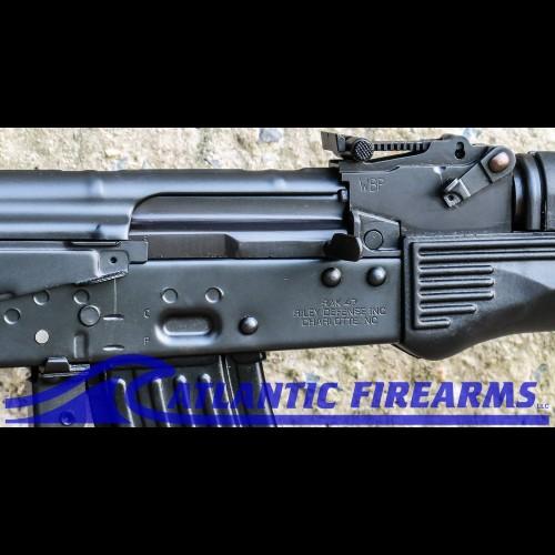 Atlantic Firearms RILEY DEFENSE POLISH WBP-AK47 RIFLE-BLACK POLY