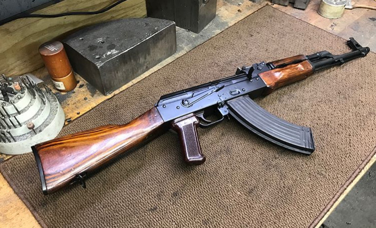 1968 Tula AKM built on Childers Receiver Operator side view