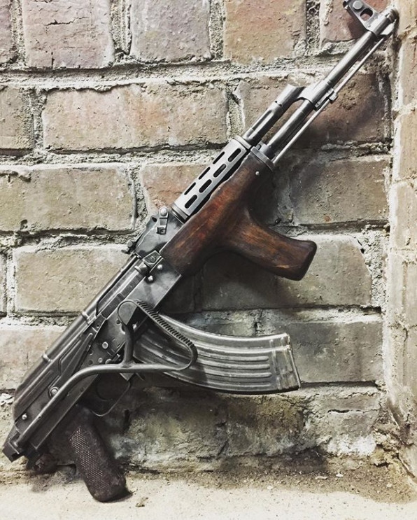 Custom Romanian PM md. 63/65 7.62x39mm rifle build